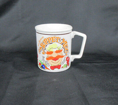 Vintage Jim Henson Muppet Mug Swedish Chef Rare 10 oz