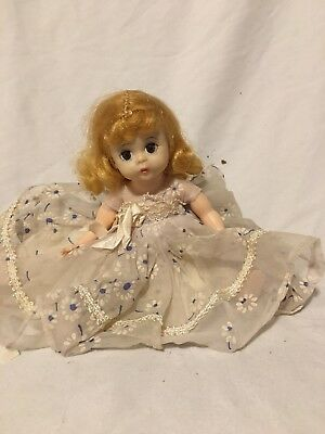 Vintage Madame Alexander kins BENT KNEE WALKER DOLL TLC