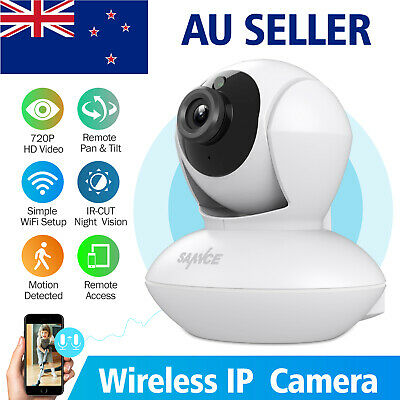 SANNCE Wireless 720P IP Camera CCTV Security System Network Monitor Night Vision