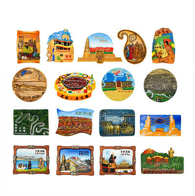 3D Resin Fridge Magnet Tourist Travel Souvenir Memorabilia - China