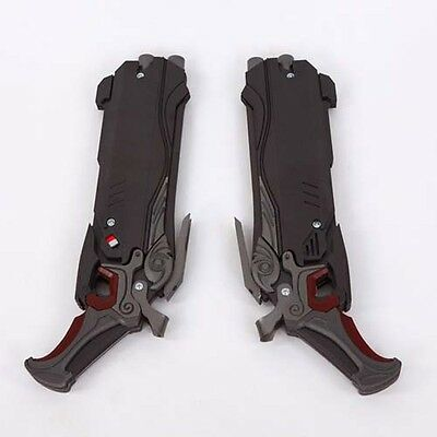 Game Overwatch Reaper Double Guns Mask Cosplay Props Weapon Cos Gun