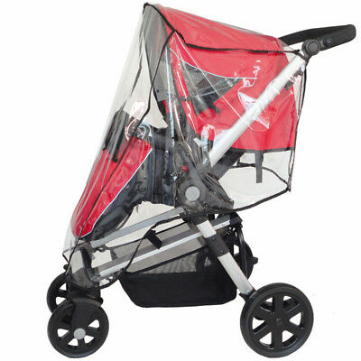 Universal PVC Rain Cover Protector  Pushchair Stroller Buggy Pram For Baby Buggy