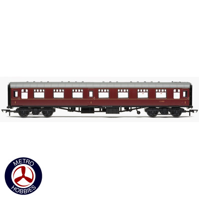 Hornby OO BR Mk1 Coach First Open E3050 Maroon HOR-R4789 Brand New