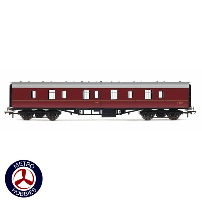 Hornby OO BR Mk1 Parcels Coach Maroon HOR-R4782 Brand New