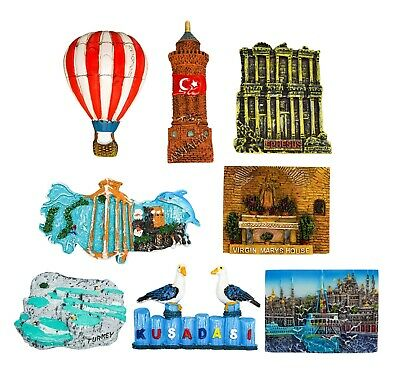 3D Resin Fridge Magnet Tourist Travel Souvenir Memorabilia - Turkey