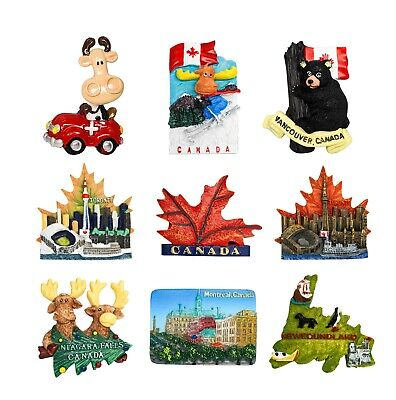 3D Resin Fridge Magnet Tourist Travel Souvenir Memorabilia - Canada