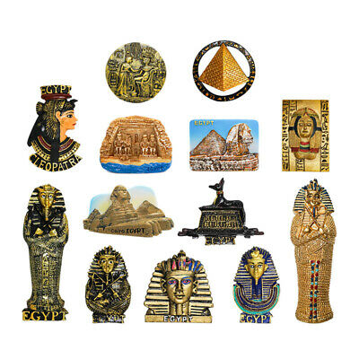 3D Resin Fridge Magnet Tourist Travel Souvenir Memorabilia -  Egypt