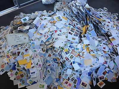 Used Assorted Australian Decimal Stamps - Bulk Lot of 50 Used Stamps