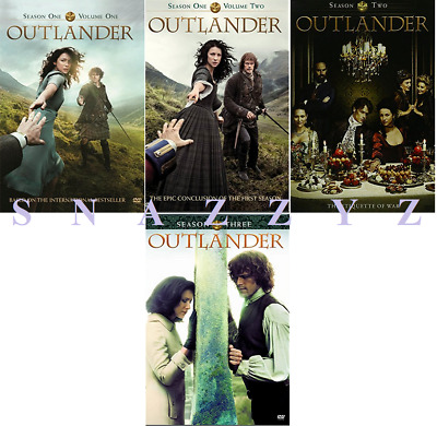 New & Sealed! TV Outlander Complete Seasons 1 - 3 DVD