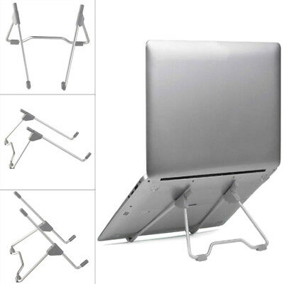 "Bracket Laptop 8""-10"" Notebook Holder Adjustable Lazy Stand Portable Pc Folding"