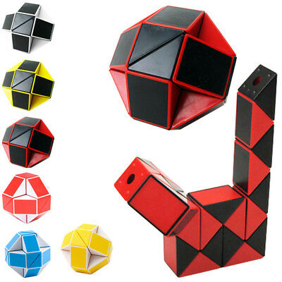 NEW Children Speed Magic Snake Cube Twist Puzzle Game Kids Educational Toys Gift