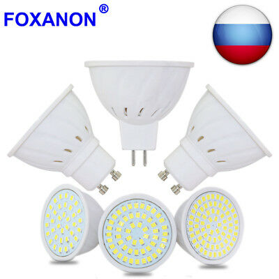 GU10 MR16 3W/4W/5W/6W/7W LED Spotlight Lamps Cool/Warm White Bulbs 12V/110V/220V