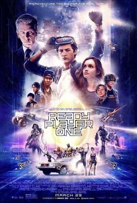 "READY PLAYER ONE 2018 Original Ver B DS 2 Sided 27x40"" US Movie Poster Spielberg"