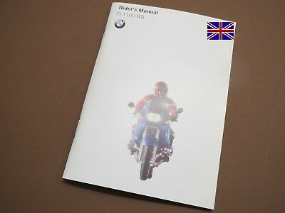 BMW R1100RS Riders Owners Manual