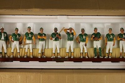 1973 Oakland A's  team Danbury Mint figurine sculpture mint cond.