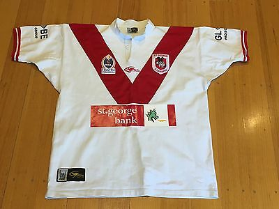 Vintage 2004 St George Illawarra Dragons NRL League Jersey / Shirt XL RARE
