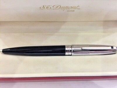 St Dupont Olympic Black Lacquer Ballpoint Pen