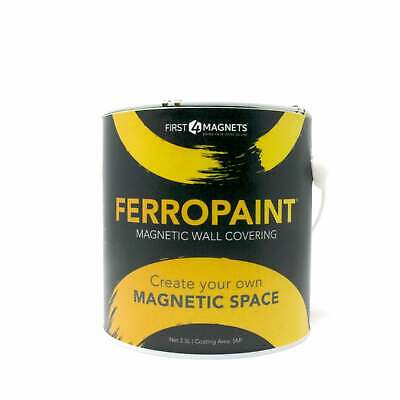 FerroPaint® Magnetic Paint - Charcoal - 2.5 Litres (10 Tins)