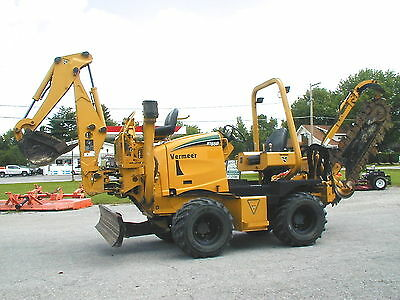 Vermeer Rt650 Trencher / Backhoe    Nationwide Shipping!!!