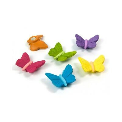 Assorted Animal Style Office Magnets - Butterfly (1 set of 6)
