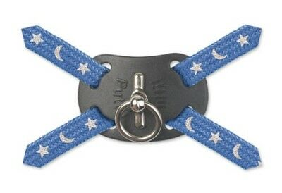 Ancol Cat Kitten Harness and Lead Set Reflective Moon & Stars Black Blue Red
