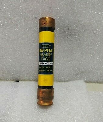 Bussmann LPS-RK-35SP Fuse - Lot of 5