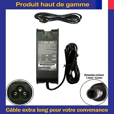 Chargeur 19,5V 4,62A 90W Pour Dell Inspiron N5110 N7010 N7110 N4010 94005030