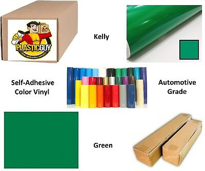 "Green Self-Adhesive Sign Vinyl 24"" x 150 ft or 50 yd (1 Roll)"