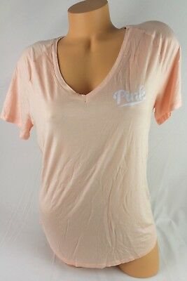 VICTORIA/'S SECRET PINK  SHIRT GRAPHIC SHORT SLEEVE SIZE XSMALL NEW F24