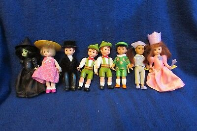 Lot of 8 McDonald's Madame Alexander Dolls