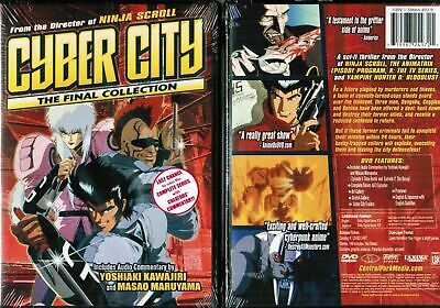Cyber City - Final Collection (DVD, 2005) BRAND NEW! FACTORY SEALED! FAST SHIP!