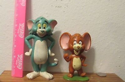 Marx Toy Vintage Tom and Jerry Cartoon Show Figures Large Solid Characters