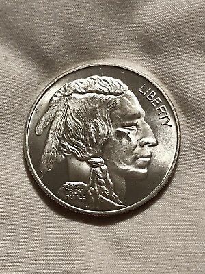 Silver Liberty Buffalo Round - .999 Fine Silver, 1 Troy Ounce