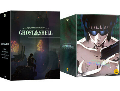 Ghost In The Shell - Blu-ray Limited Edition Box Set (2018) / Full Slip, Premium