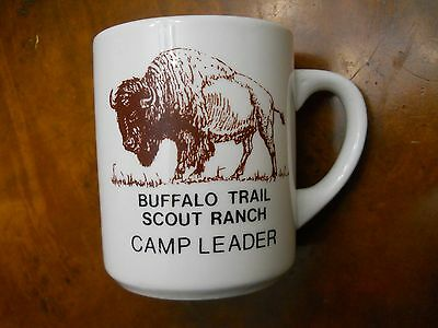 Buffalo Trail Scout Ranch, Btsr, Camp Leaders Mug (Unused & Excellent Condition
