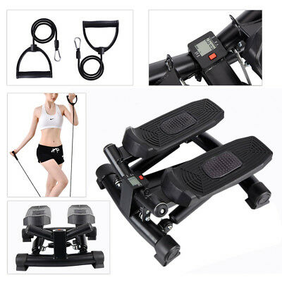 Gym Aerobic Exercise Mini Stepper Fitness Machine Workout Legs Arms Home/Office