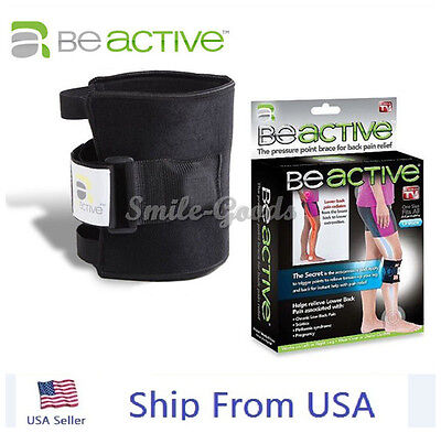 US BeActive Leg Knee Brace Acupressure Relieves Sciatic Nerve And Back Pain