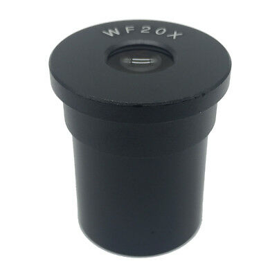 WF20X Eyepiece for Biological Microscope Lens Mount 23.2mm Wide Field View 10mm
