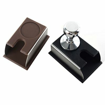 Stainless steel Coffee Tamper Holder Stand Rack Tool Barista Tamping Station