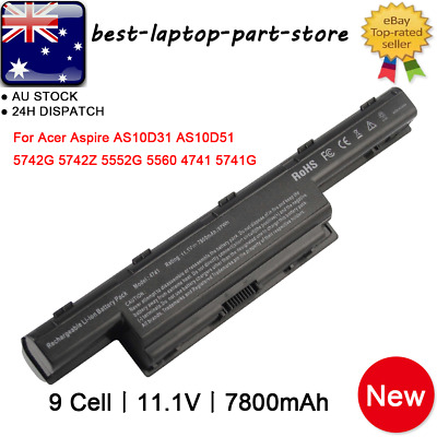 For Acer Aspire V3 V3-471G V3-551G V3-571G V3-771G Battery / Charger AS10D75