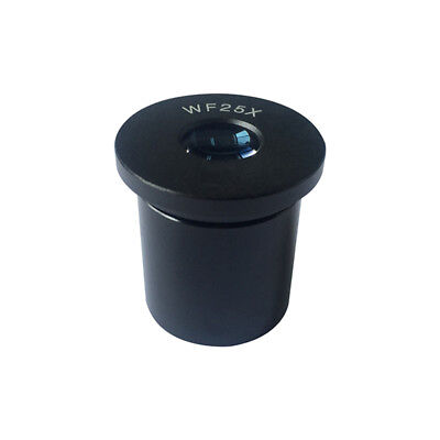 WF25X Eyepiece for Biological Microscope Wide Field Optical Lens Mounting 23.2mm