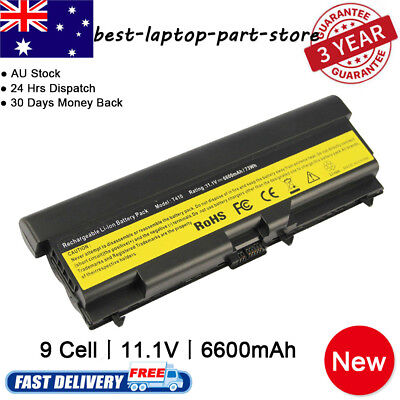 9 Cell battery for Lenovo ThinkPad T410 T420 T510 T520 W520 SL410 SL510 Charger