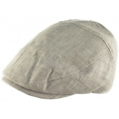 100% Cotton 5 Panel Flat Cap Ultra Lightweight 60 gms  Ivy Cap Light Grey