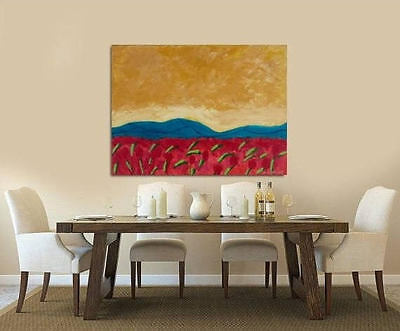 CONTEMPORARY Art, modern walldecor,Abstract Acrylic Painting onCanvas,Sweet View