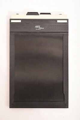 "Fidelity Delux 13x18 cm (5x7"") double film sheet holder. Good condition"