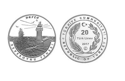 TURKEY 2011 ERZURUM XXV WINTER UNIVERSIADE HOCKEY COMMEMORATIVE OXIDE BRASS COIN