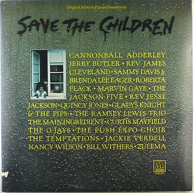 """2x 12"""" LP - Various - Save The Children - M1385 - mit Poster  - cleaned"""