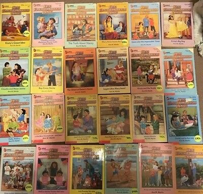 Baby Sitters Club books- various numbers including special editions