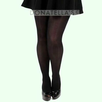 PLUS SIZE TIGHTS 40 70 80 DENIER 20 2x 22 24 26 3xl 28 30 semi microfbre opaque