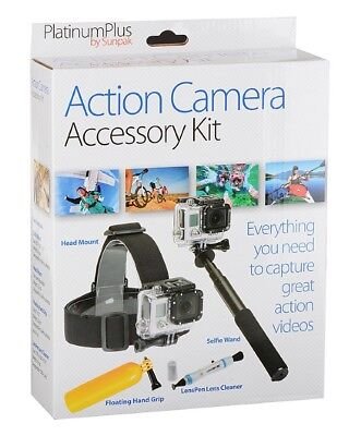 Action Camera Accessory Kit - Fits GoPro